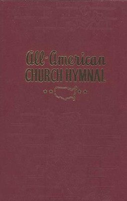 All American Church Hymnal (Red)   -