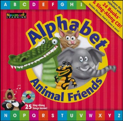 Alphabet Animal Friends Box Set  -