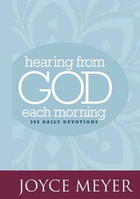 Hearing from God Each Morning: 365 Daily Devotions - eBook  -     By: Joyce Meyer
