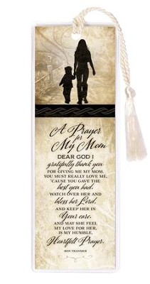 Prayer For My Mom Bookmark  -