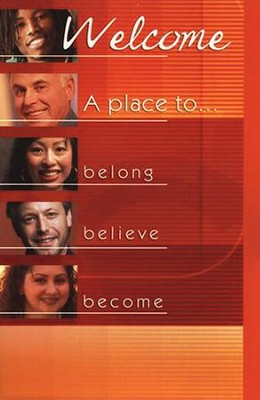 A Place to Belong, Welcome Folders, 12                      -