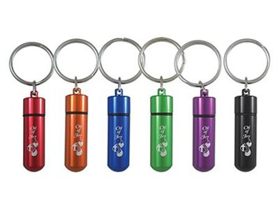 Anointing Oil, Keychain Vial, 6 Pieces  -