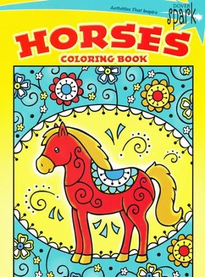 Horses Coloring Book  -     By: Noelle Dahlen