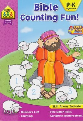 Bible Counting Fun! Ages 4-6   -
