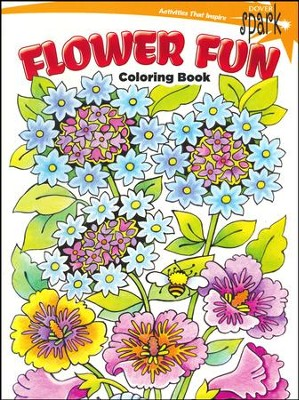 Flower Fun Coloring Book  -     By: Maggie Swanson