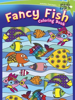 Fancy Fish Coloring Book  -     By: Kelly Baker
