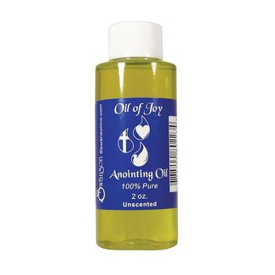 Anointing Oil, Unscented, 2 ounces  -
