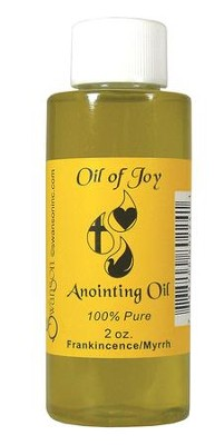 Anointing Oil, 2 ounce, Frankincense & Myrrh  -