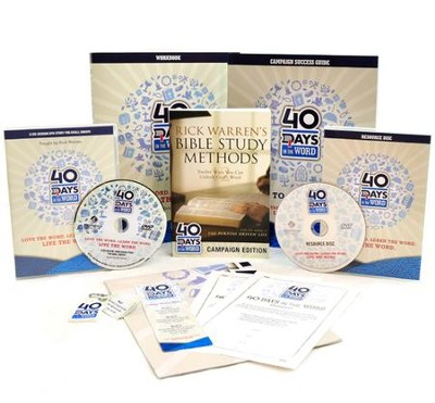 40 Days In The Word Campaign Resource Kit   -