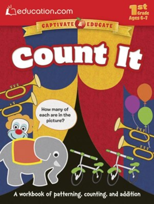 Count It Workbook, 1st Grade  -