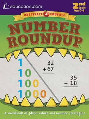 Number Roundup Workbook, 2nd Grade  -
