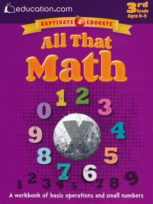 All That Math Workbook, 3rd Grade  -