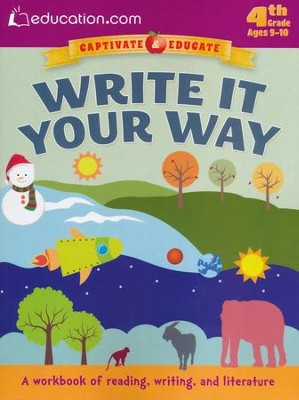 Write it Your Way Workbook, 4th Grade  -