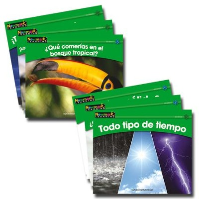 Rising Readers Science Set (Spanish Language Edition) Volume 2 (set of 12 titles)  -