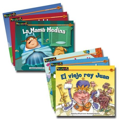 Rising Readers Fiction Set (Spanish Language Edition): Nursery Rhyme Tales 1 (set of 12 titles)  -