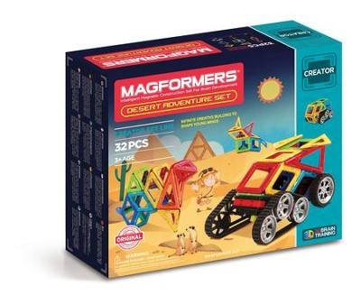 Adventure Desert 32 Piece Set  -