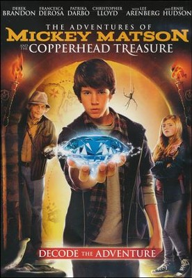 The Adventures of Mickey Matson and the Copperhead  Treasure, DVD  -