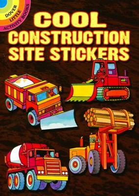 Cool Construction Site Stickers  -     By: Editors