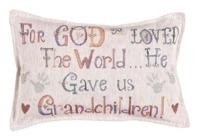 For God So Loved the World...Pillow   -