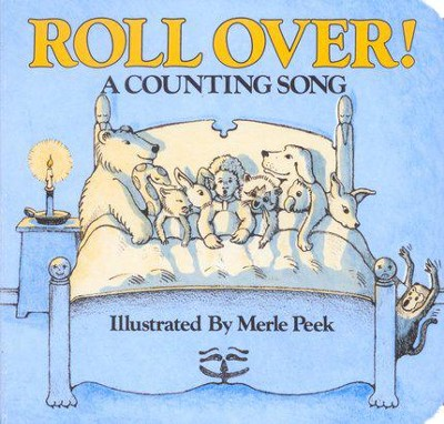 Roll Over! A Counting Song, Board Book   -     By: Merle Peek