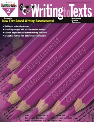 Common Core Practice Writing to Texts Grade 2  -