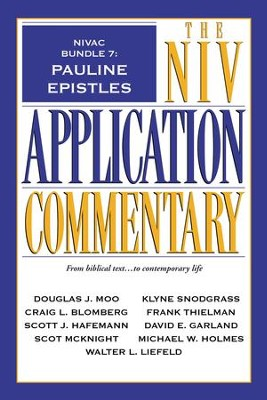 NIVAC Bundle 7: Pauline Epistles - eBook  -     By: Craig L. Blomberg, Scott J. Hafemann, Scot McKnight