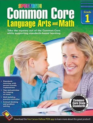 Common Core Math and Language Arts, Grade 1  -