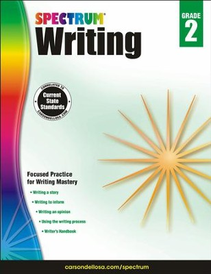 Spectrum Writing Grade 2 (2014 Update)  -