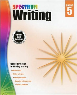 Spectrum Writing Grade 5 (2014 Update)  -