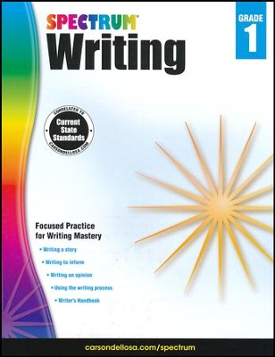 Spectrum Writing Grade 1 (2014 Update)  -