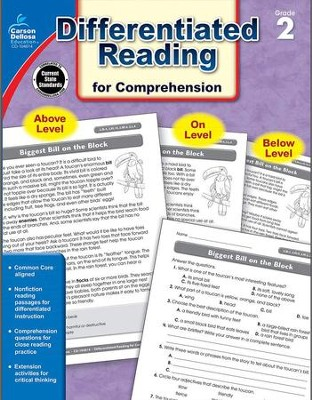 Differentiated Reading for Comprehension, Grade 2  -