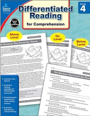 Differentiated Reading for Comprehension, Grade 4  -