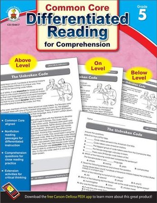 Differentiated Reading for Comprehension, Grade 5  -