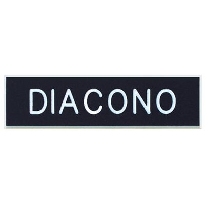 Deacon Badge, Spanish  -