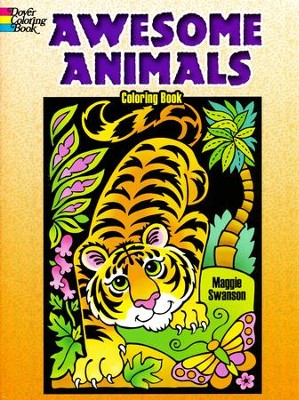 Awesome Animals Coloring Book  -     By: Maggie Swanson