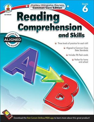Reading Comprehension and Skills, Grade 6  -