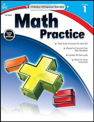Kelley-Wingate Math Practice, Grade 1   -