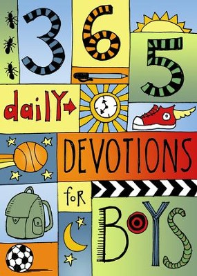 365 Devotions for Boys - eBook  -
