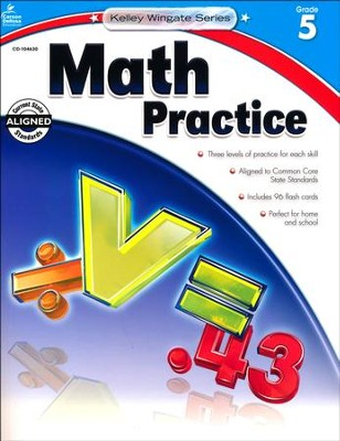 Kelley-Wingate Math Practice, Grade 5   -