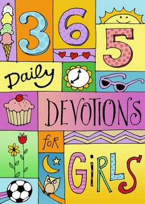 365 Devotions for Girls - eBook  -