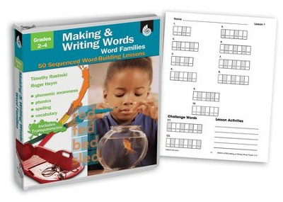 Making & Writing Words: Word Families  -     By: Timothy Rasinski, Roger Heym