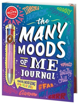 Many Mood Of Me Journal  -