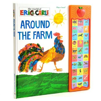The World Of Eric Carle: Around The Farm Play-A-Sound Book  -     By: Eric Carle