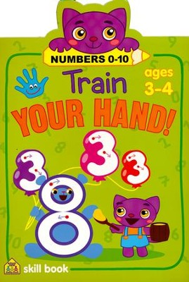 Train Your Hand! Numbers 0-10   -