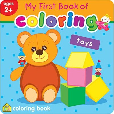 My First Book of Coloring: Toys   -