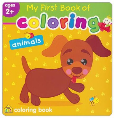 My First Book of Coloring: Animals   -