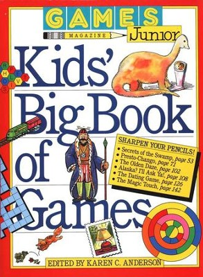 Kids Book of Games   -     Edited By: Karen C. Anderson