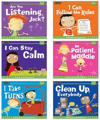 MySELF Set: I Am in Control of Myself (set of 6 titles)   -