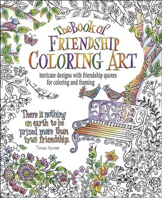 The Book of Friendship Coloring Art  -