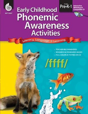 Early Childhood Phonemic Awareness Activities  -     By: Beth Anne Bray